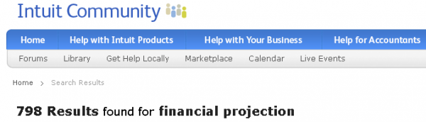 Use Quickbooks to Create Future Financial Projections