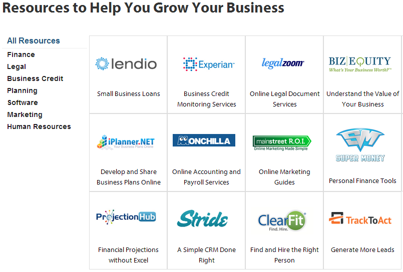 ProjectionHub Added to the Lendio Small Business Resource Center