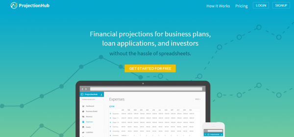 ProjectionHub Releases v2 of App to Help Entrepreneurs Conquer Financial Projections