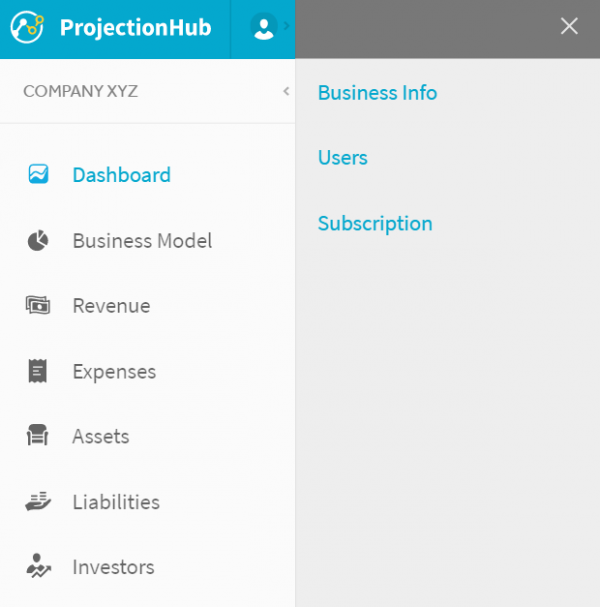 Share your Financial Projections with Investors, Lenders, Accountants, and Partners